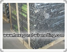 Electro Galvanized Chicken Wire, Packed in Pallet